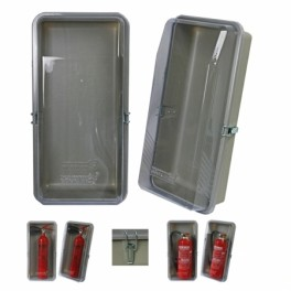 Klarsichtbox 6 kg mit Metallverschluß