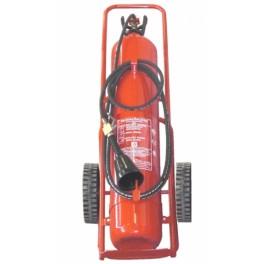 Kohlendioxid Löschwagen 50 kg DIN EN