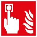 Symbol Brandmelder manuell  ISO 7010