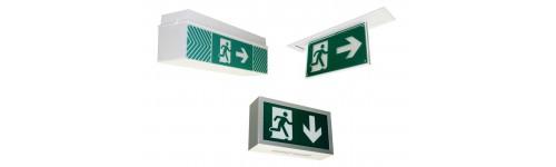 Not-und-Rettungszeichenleuchten