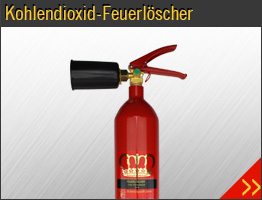 Kohlendioxid-Feuerlöscher