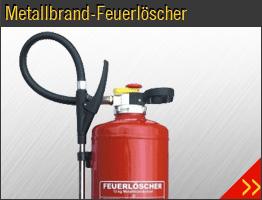 Metallbfrand-Feuerlöscher