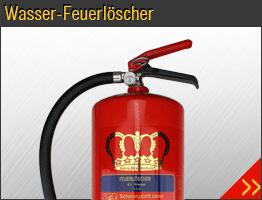Wasser-Feuerlöscher
